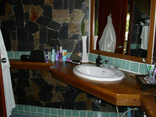 Koh Chang Paradise Resort & Spa: Waschbereich!