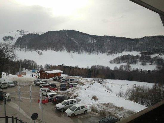 Hotel Polsa: Vista dalla camera
