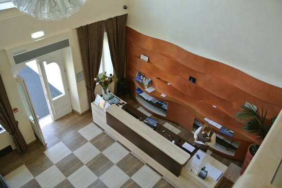 reception from above