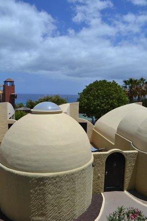 VIK Suite Hotel Risco del Gato : notre terrasse