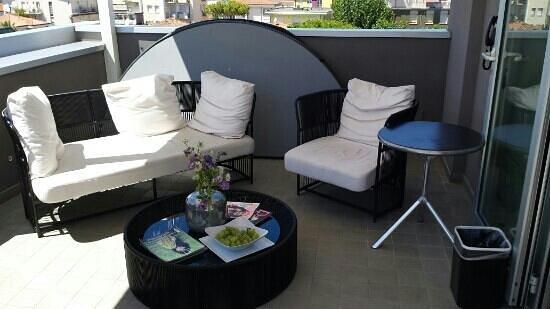 Q Hotel: terrazza