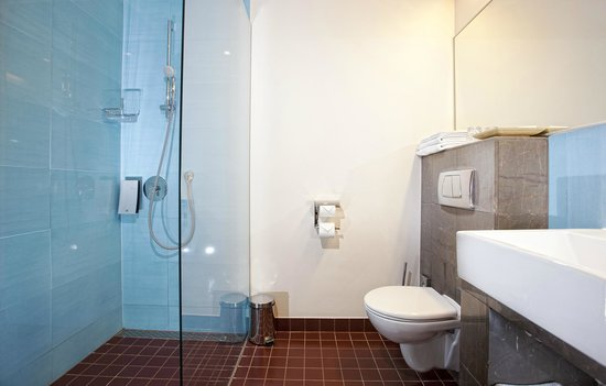 Hotel Euroopa: Bathroom with shower
