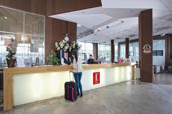 Hotel Euroopa: Reception
