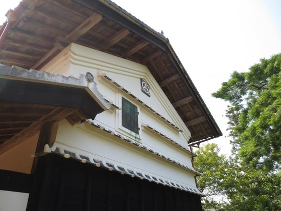 The birthplace of Yataro Iwasaki: 三菱紋入の蔵