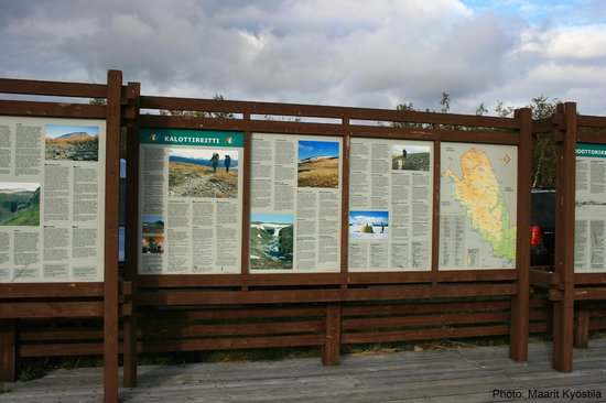 Kilpisjarvi Visitor Centre: Information about the area.