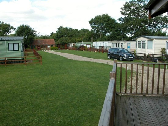 The Blackwell Ox: Static Caravan Site where Lodges Reside