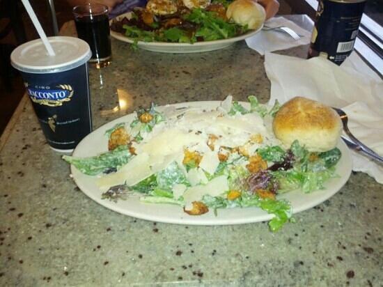 Cibo Racconto: Best Caesar salad in Chicago