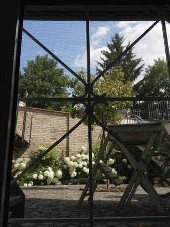 Ausblick In Den Garten Picture Of Villa Rossi Wiesbaden Tripadvisor