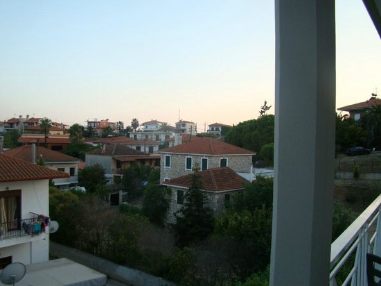 Milos Apartments: Θέα
