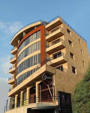 Jounieh Suites Hotel: Hotel Facade