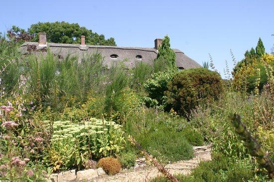 Furzey Gardens: House in the garden