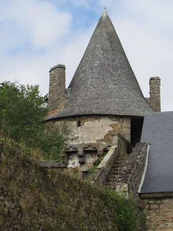 Chateau de Landal: L'enceinte