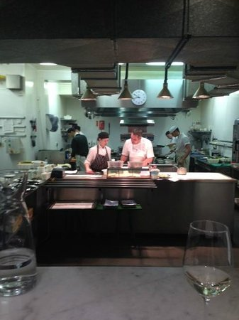 Castle Terrace Restaurant: Dominic Jack and team hard at work.