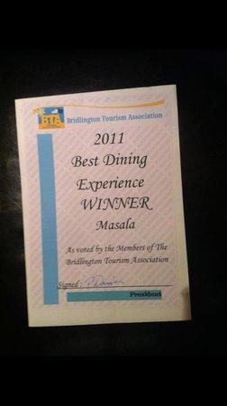 Masala: Awards 2011