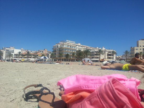 Hotel Las Arenas: From The Beach