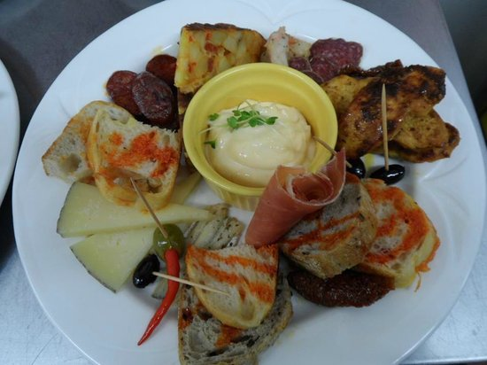 how to create tapas platter