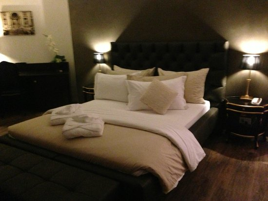 Hotel First: chambre