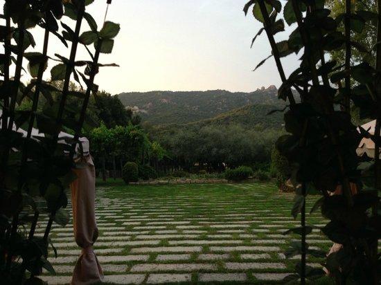 L'Agnata di De Andre: Vista dall'ingresso della casa