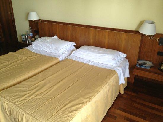 Salo' du Parc Hotel: Lits confortables