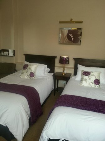 Old Bull Inn : Twin Room