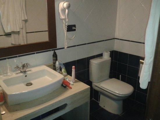Hostal del Senglar: wc limpio