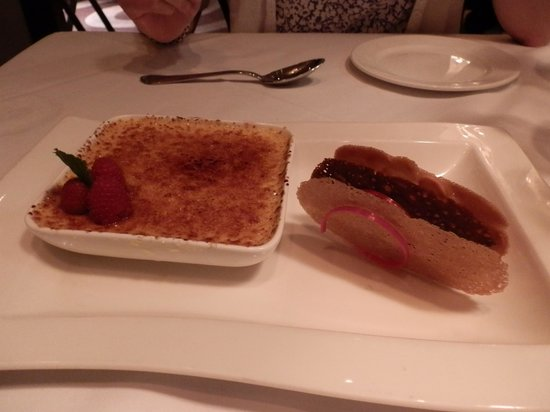 Steakhouse 55: Creme Brulee