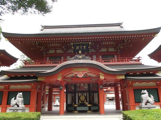 Chiba Shrine : 楼門型の分霊社・尊星殿