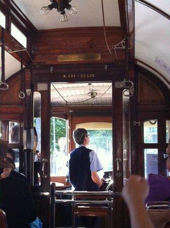 Porto Tram: intérieur