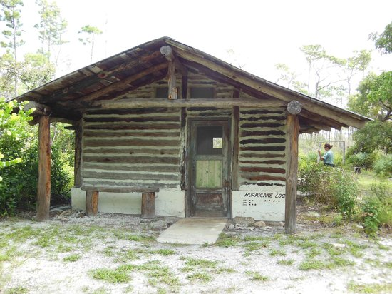 Jonathan Dickinson State Park: Trapper Nelson's guest cabin