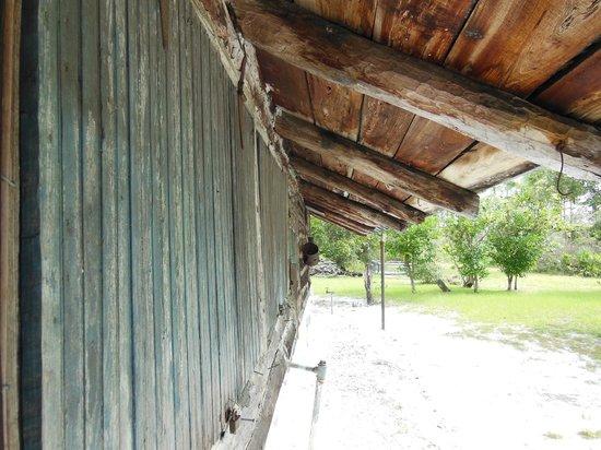 Jonathan Dickinson State Park: Trapper Nelson's hurricane shutters
