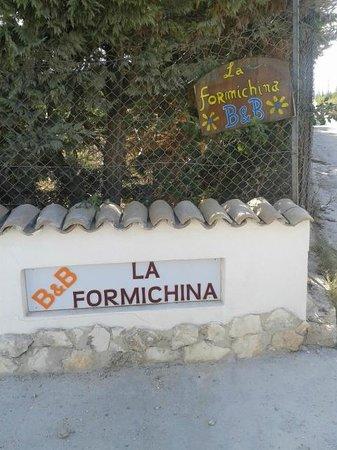 La Formichina: l'ingresso