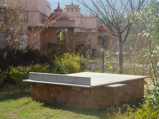Tree of Life Resort & Spa Jaipur: Sun bench