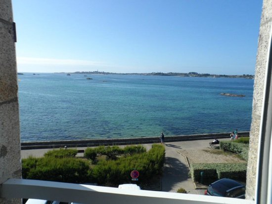 Hotel aux Tamaris : lovely view from room 20