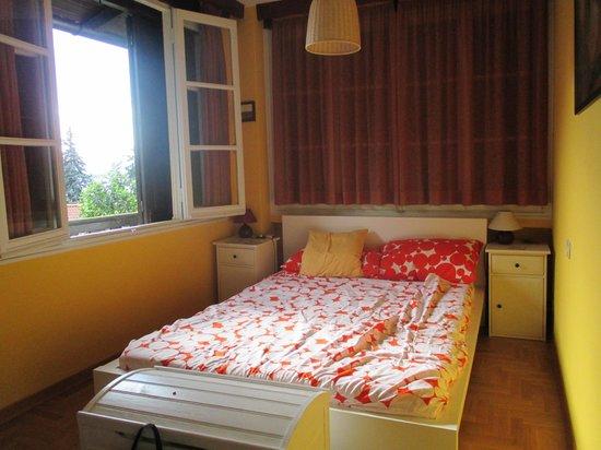 Villanuvola Bed & Breakfast: chambre double avec vue sur le lac Majeur