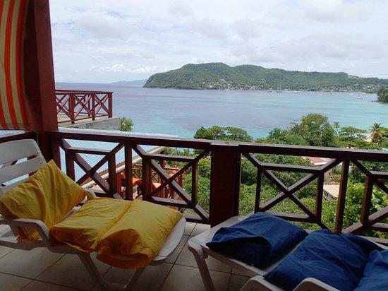 The Sweet Retreat: Balcony of Brown Room