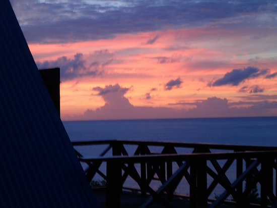 The Sweet Retreat: Sunset from room