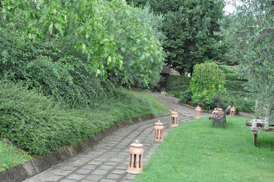 Casina Valloreci: een leuk stukje tuin