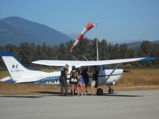 Corse Parachutisme Tandem : tandum paraschute