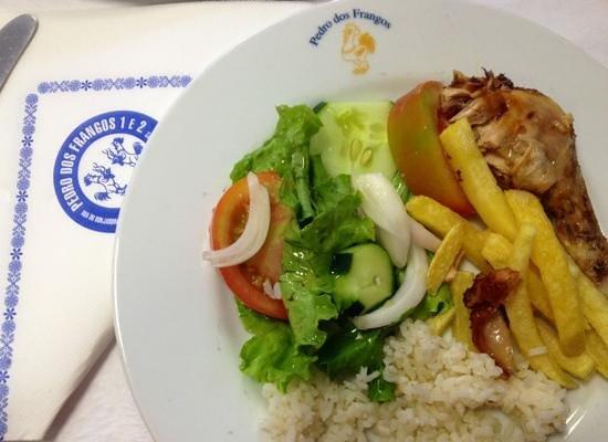 Restaurante Pedro dos Frangos: Bom e barato