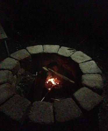 Myrtle Beach KOA Kampground: fire pit