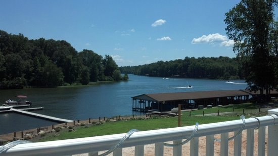 Tim's at Lake Anna: view from the deck