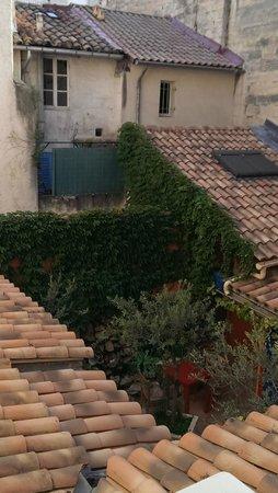 Hotel Le Colbert : courtyard
