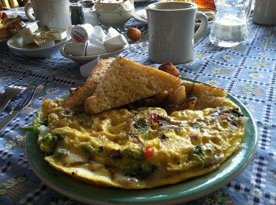 Jackson's Lodge: Amazing breakfast