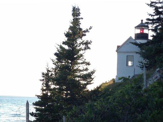Bass Harbor Head Lighthouse: Bass Light from the closest rocks