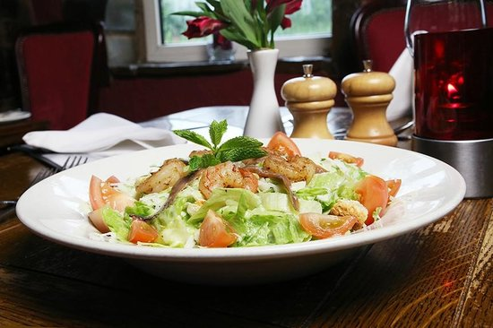 The Blue Boar Inn: Salad