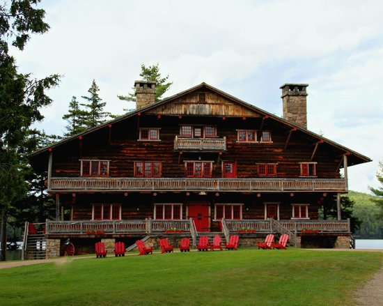 Great Camp Sagamore: The Main Lodge