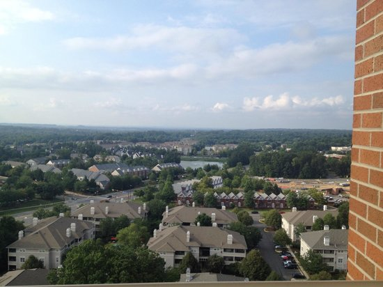 Cosmopolitan at Reston Town Center: Daytime view from our apartment