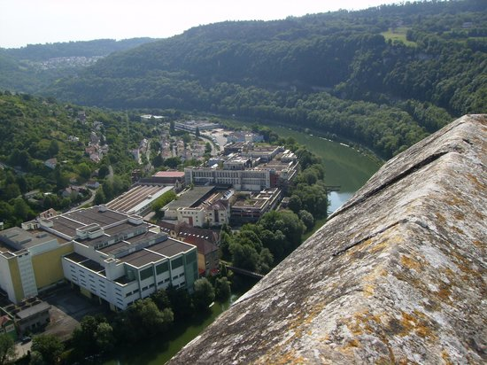Ibis Besancon Centre Ville : View from citadel