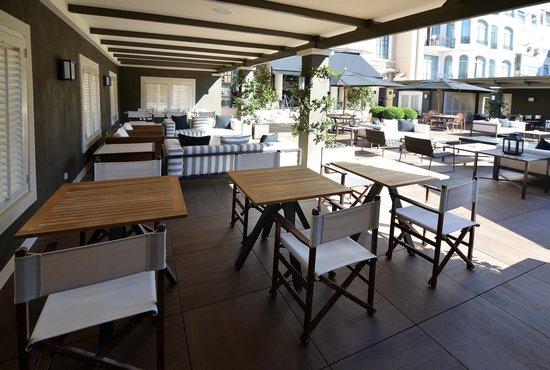 Hotel Granvia: Terrace