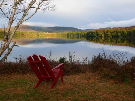 Great Camp Sagamore: Sunrise on Sagamore Lake